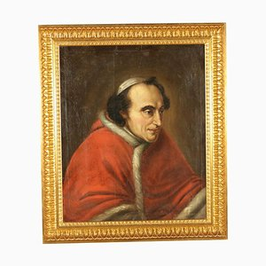 Portrait of Pope Pius Vii, Oil on Canvas, Early 19th Century