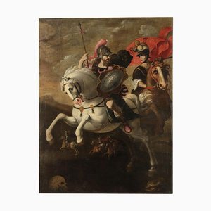 Saulo Against the Christians, Oil on Canvas, 17th Century