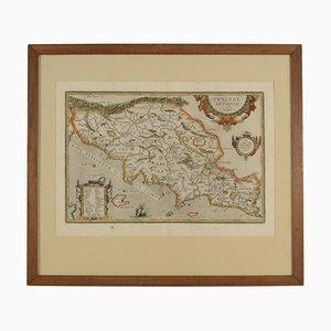 Mappa dell'antica Etruria, XVI-XVII secolo