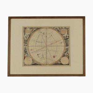 Mappa dei movimenti della terra e di altre sfere celesti
