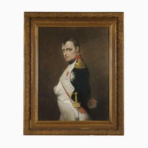 Portrait of Napoleon Bonaparte, Pastel on Paper, Late 19th Century