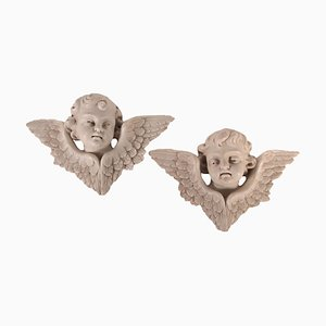 Putti Sculptures, Set of 2