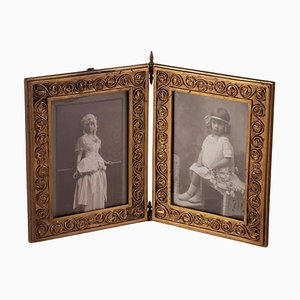 Gilded Bronte Frames by Antonio Pandiani