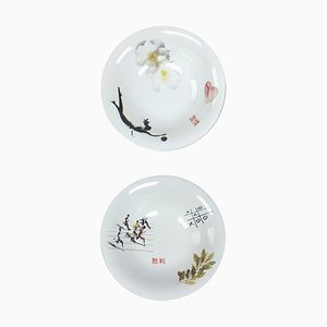 Bowls by Marcel Wanders for Tichelaar Makkum, Set of 2