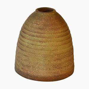 Sculptural Studio Pottery Vase in Beehive Shape