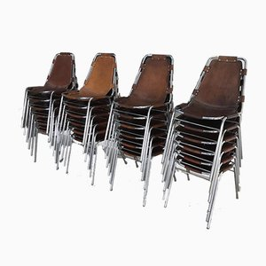 Les Arcs Chairs by Charlotte Perriand, 1960s, Set of 12
