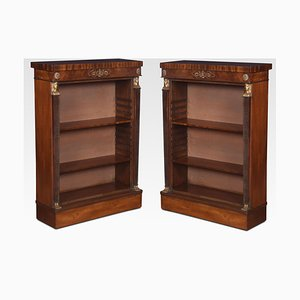Empire Style Bookcases, Set of 2
