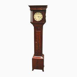 19th-Century Mahogany Grandmother Clock
