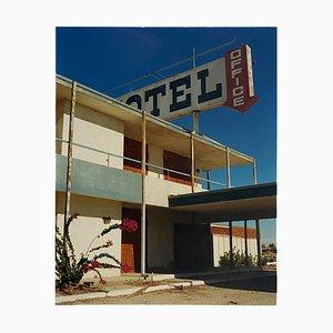North Shore Motel Office II, Salton Sea, Kalifornien, 2003, Architektonisches Farbfoto