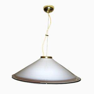 Italian Modernist Ceiling Light from Murano