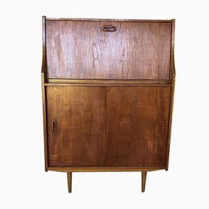 Mid-Century Scandinavian Teak Secretaire Desk from TAB, 1960s