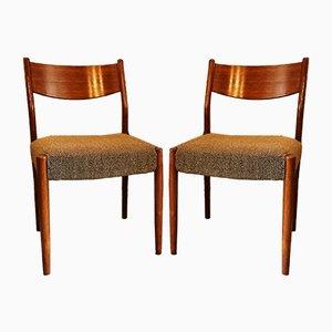 Esszimmerstühle von Cees Braakman & Adriaan Dekker für Pastoe, 1950er, 4er Set
