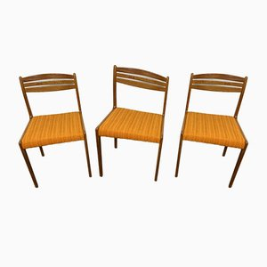 Dining Chairs from Lübke, 1960s, Set of 3