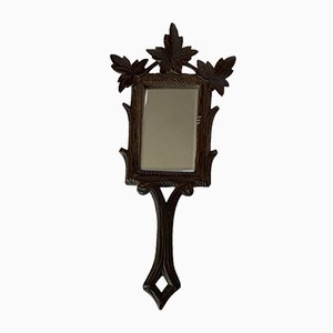 Antique Black Forest Mirror