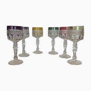 Set di bicchieri Roemers, anni '60, set di 6