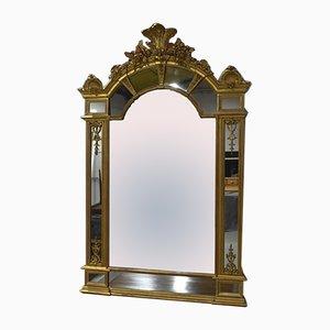 Specchio con perline, inizio XIX secolo