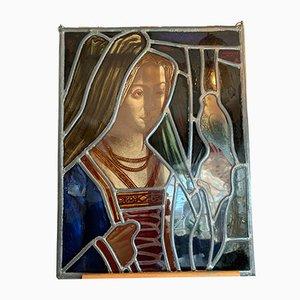Finestra in vetro colorato raffigurante Maria di Borgogna