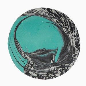 Newton's Bucket Türkise Acryl Schale von Silo Studio