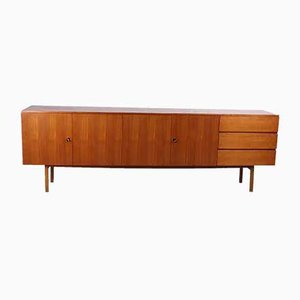 Long Sideboard with Cupboard Space & Drawers, 1960s