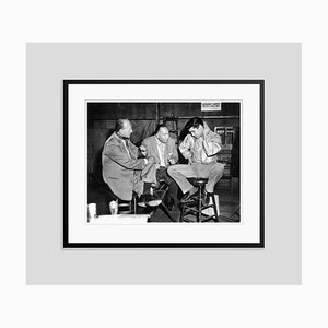 On the Set of King Creole Archival Pigment Print Framed in Black by Everett Collection