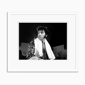 Elvis Presley Archival Pigment Print Framed in White by Everett Collection