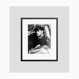 Elvis Presley Frankfurt Special Archival Pigment Print Framed in Black by Everett Collection