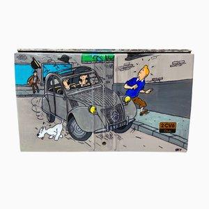 Rear Trunk Tintin 2CV
