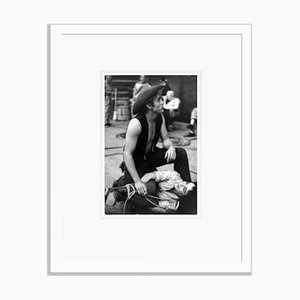 Dean Rounds Up Taylor Archival Pigment Print Framed in White by Cineclassico