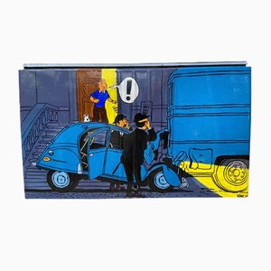 Rear Trunk 2CV - Tintin 2