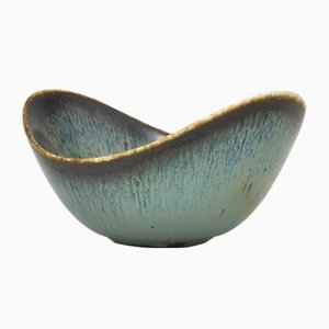 Small Mid-Century Biomorphic Bowl by Gunnar Nylund for Rörstrand, 1954