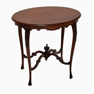 Antique Victorian Carved Occasional Table