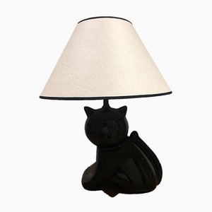 Cat Table Lamp, 1980s