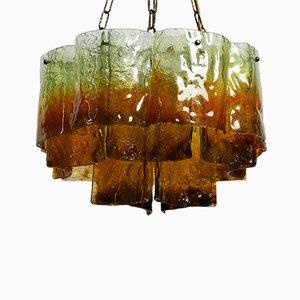 Large Italian Murano glass Chandelier, 1950s