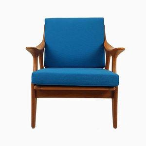 Mid-Century Teak Lounge Chair from De Ster Gelderland, 1960s
