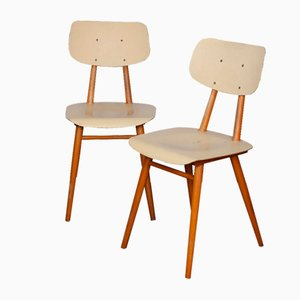 Eastern European Dining Chairs from TON, 1960s, Set of 2