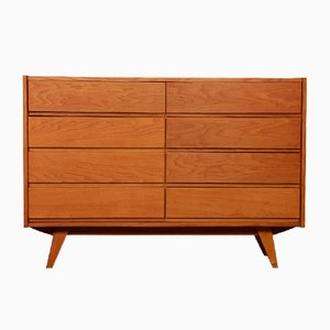 Vintage Model U-453 Chest of Drawers by Jiří Jiroutek for Interier Praha, 1960s