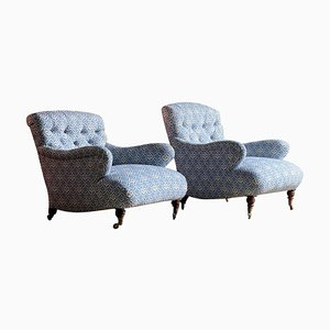 Bridgewater Armchairs from Howard & Sons, Set of 2