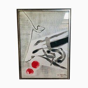 Christian Chenard, Technik Mixed, Acryl, 20. Jahrhundert