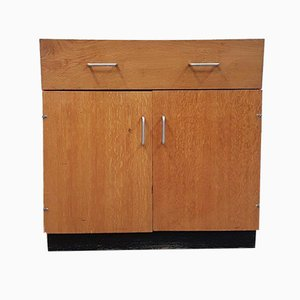 Late Mid-Century Industrial School Science Lab Cabinet Cupboard