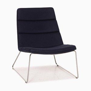 Blue Fabric Relounge 6400 Armchair by Urs & Carmen Greutmann-Bolzern for Dietiker