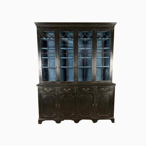 English Painted Bookcase, 1860s
