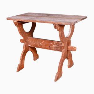 Swedish Trestle Table, 1820s