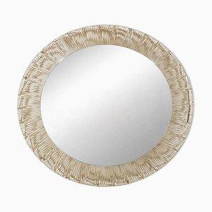 Plastic Mirror with Backlight by Egon Hillebrand for Hillebrand Lighting Leuchtenfabrik