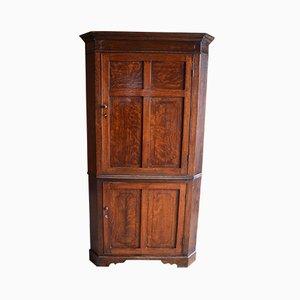 Mueble esquinero antiguo de roble