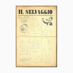 Mino Maccari - the Wild Not. 10 by Mino Maccari - 1932