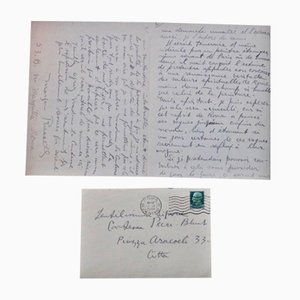 Autograph Letter Signed by Morgan Russell - 1935