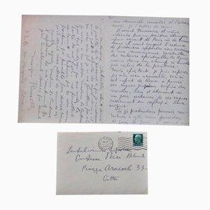 Lettre Autographe Signée par Morgan Russell - 1935