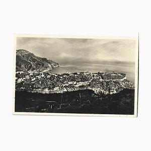 Autograph Greeting Postcard Signed by Vittorio Rieti - 1934