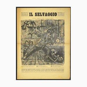 Mino Maccari - the Wild No.10 by Mino Maccari - 1935