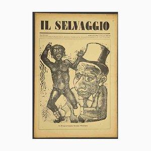 Mino Maccari - the Wild No.12 by Mino Maccari - 1932